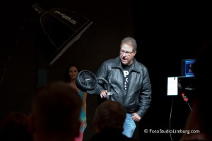 Scott telling about the Blowit fan :)