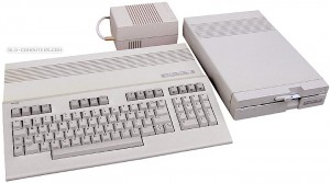 Commodore 128 with 1571 floppy drive